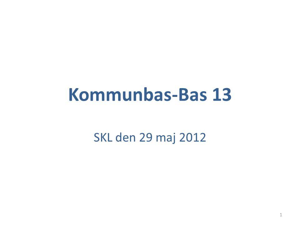 Kommunbas-Bas 13 SKL den 29 maj 2012 1