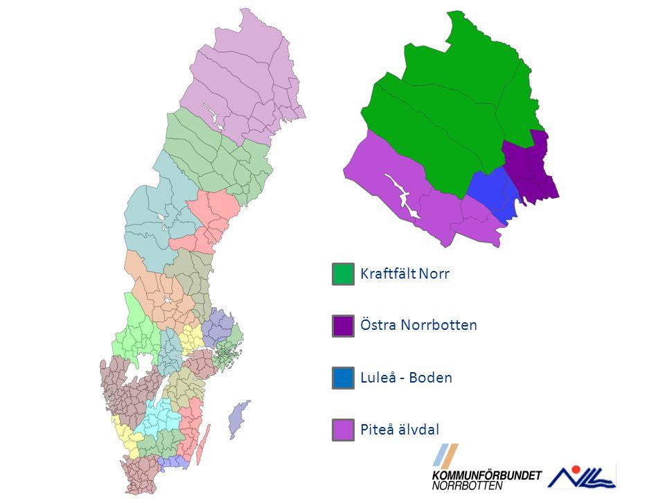 Kraftfält Norr Östra Norrbotten Luleå - Boden Piteå älvdal