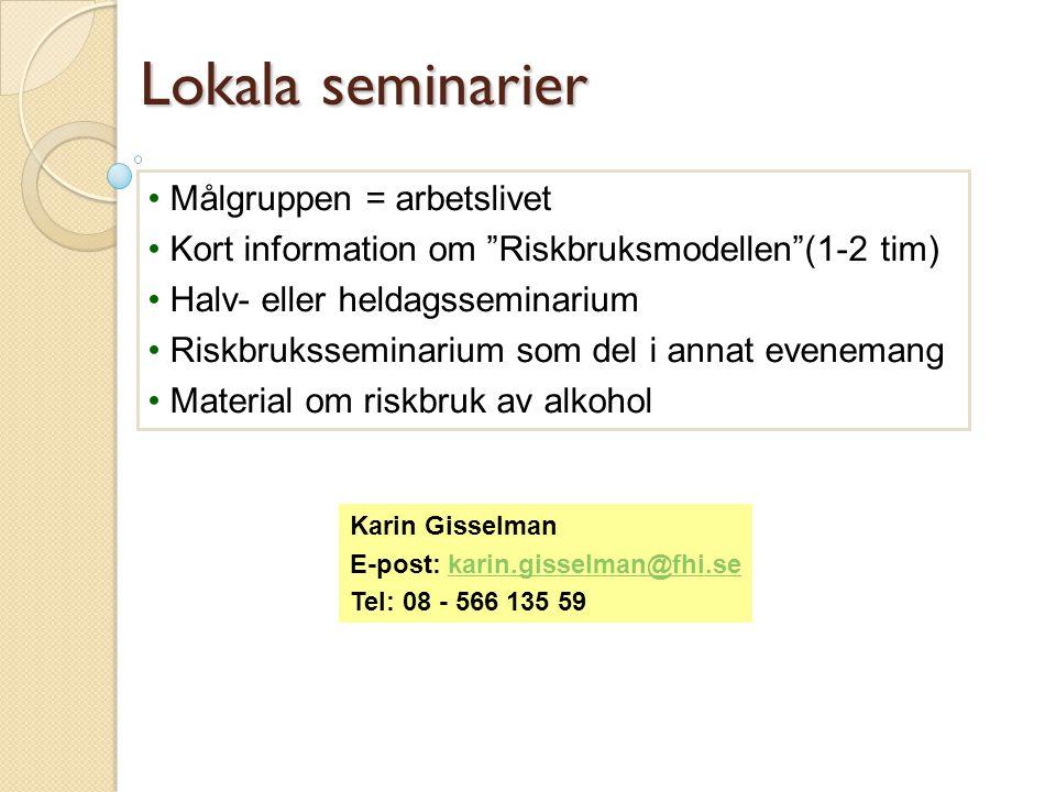 Möjlighet till samverkan  Fackliga utbildningar  Rådgivning Kontakt: Lars Olov Sjöström, MHF tel.