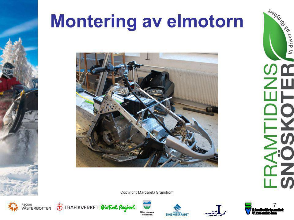 8 Copyright: Margareta Granström Elmotor 47 kW
