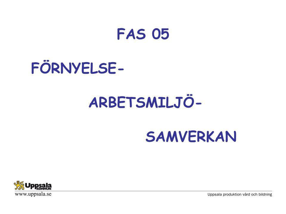 Samverkan i Uppsala kommun Det är arbetsgivaren som fattar beslut och är ansvarig för beslut och verkställighet i alla verksamhetsfrågor