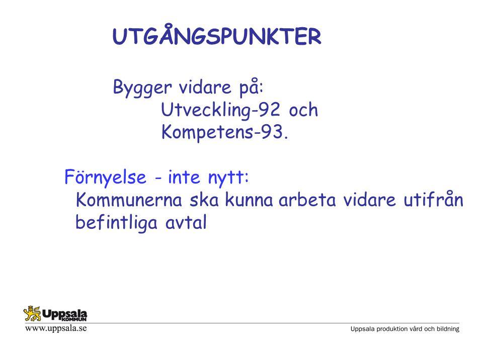 Samverkan i Uppsala kommun Arbetsplatsträff Med arbetsplats avses minsta arbetsplats där arbetsledare har både verksamhets- och personalansvar