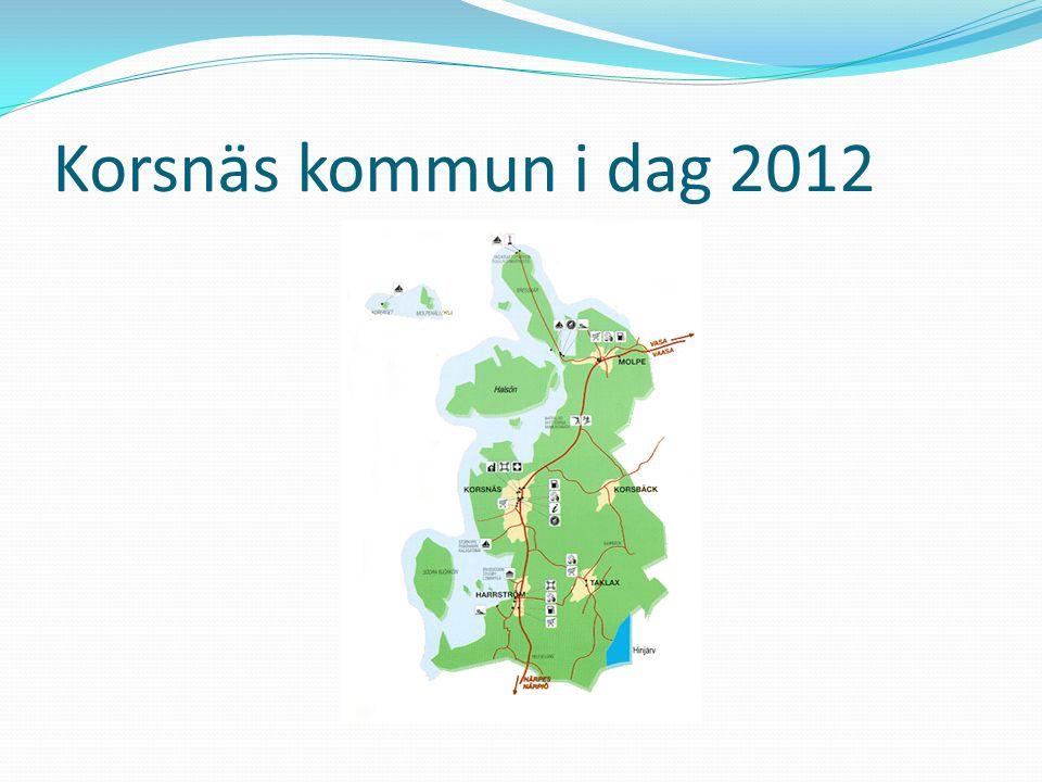 Korsnäs kommun i dag 2012