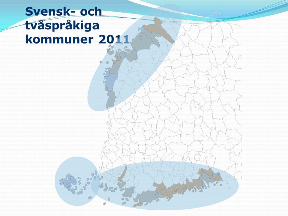 Förändringar i befolkningsantalet 2015-2040 i Svenskfinland 30 till 48 % (ökning) 20 till 30 % 10 till 20 % 0 till 10 %