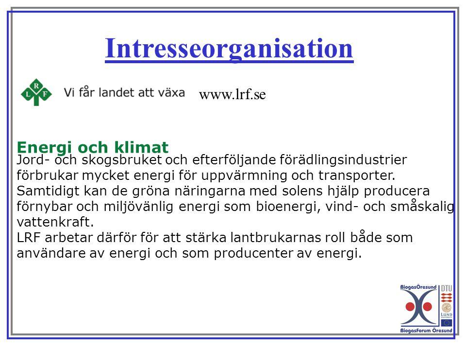 Energi och klimat Jord- och skogsbruket och efterföljande förädlingsindustrier förbrukar mycket energi för uppvärmning och transporter. Samtidigt kan