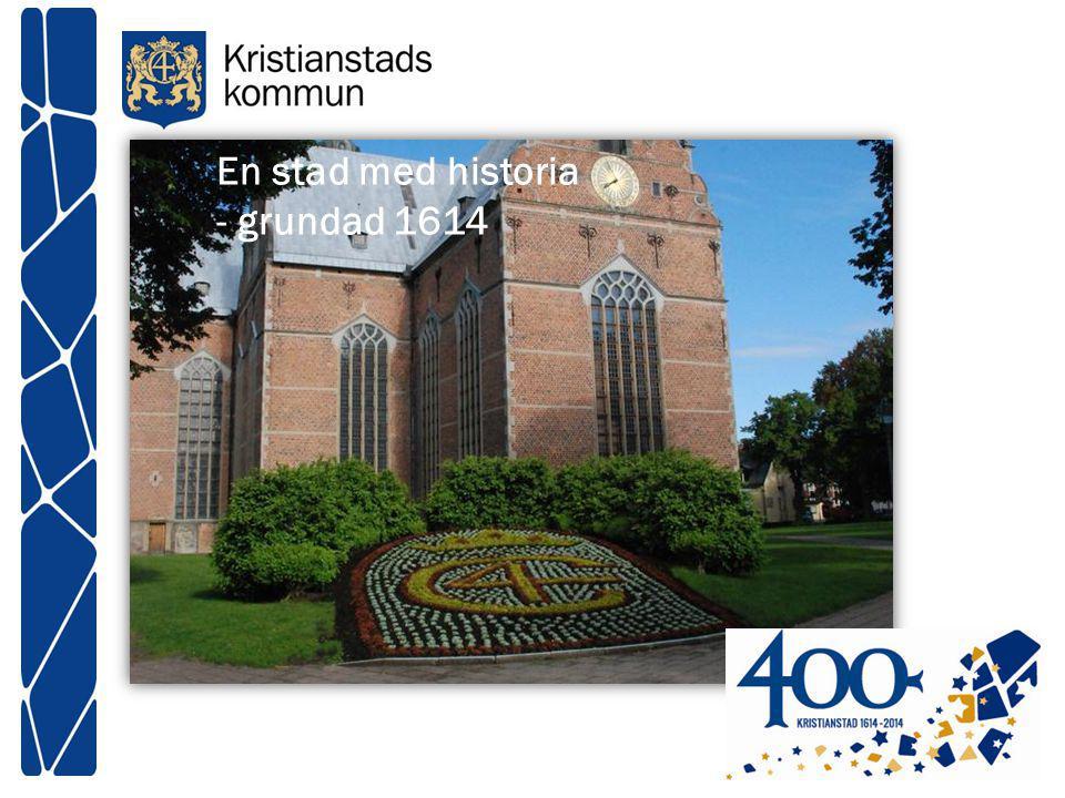 En stad med historia - grundad 1614