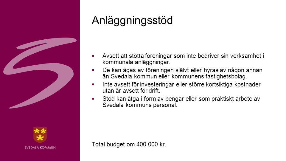19 Framtiden  Ny webbplats för kommunens anläggningar.