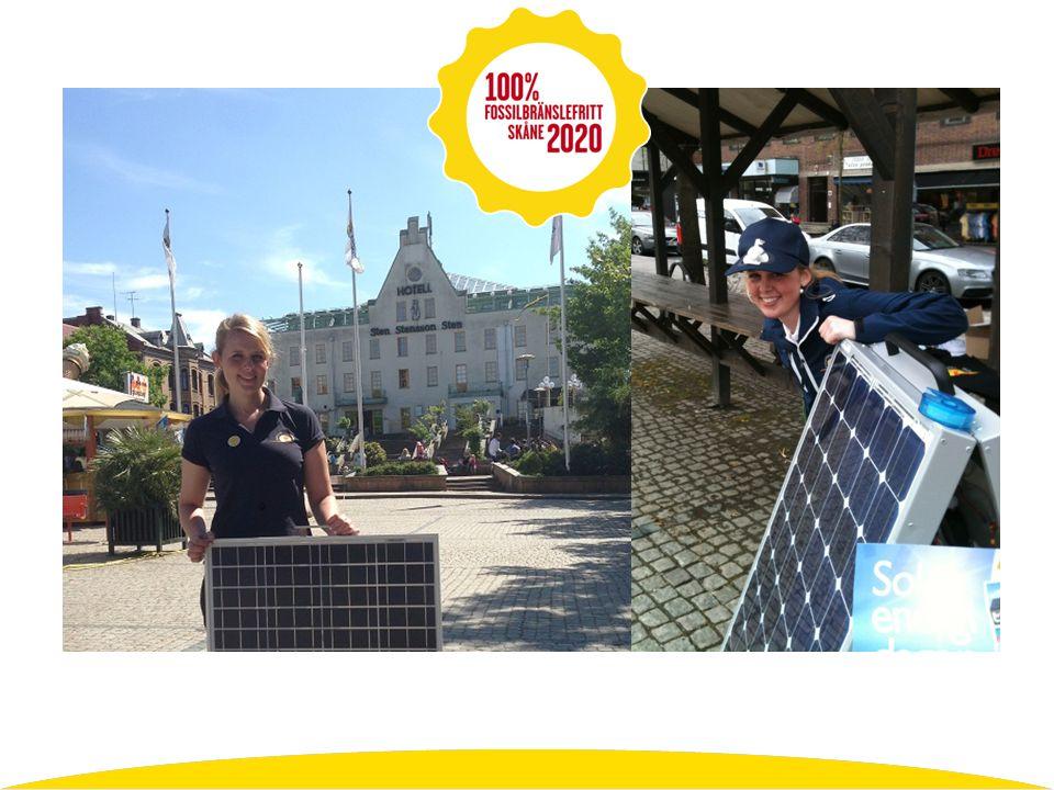 Utbetalning för solcellsstöd: mars 2013…