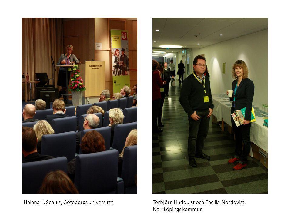 Sv Selen Özan med kompmusiker, elever vid Kungliga musikhögskolan i Stockholm, underhåller vid mingel på Kvalitetsdrivet2014