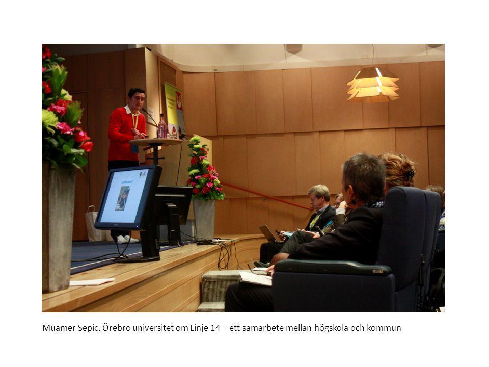 Sv Karl-Fredrik Ahlmark, Högskolan i Borås talare vid seminariet Utbildning och arbete för alla
