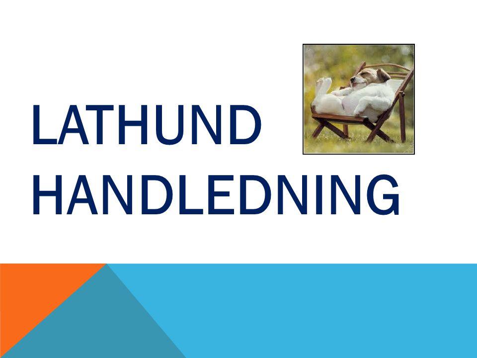 LATHUND HANDLEDNING