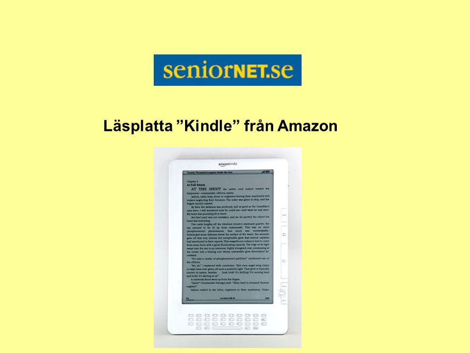Läsplatta Kindle från Amazon