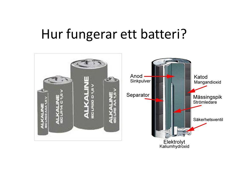 Hur fungerar ett batteri?
