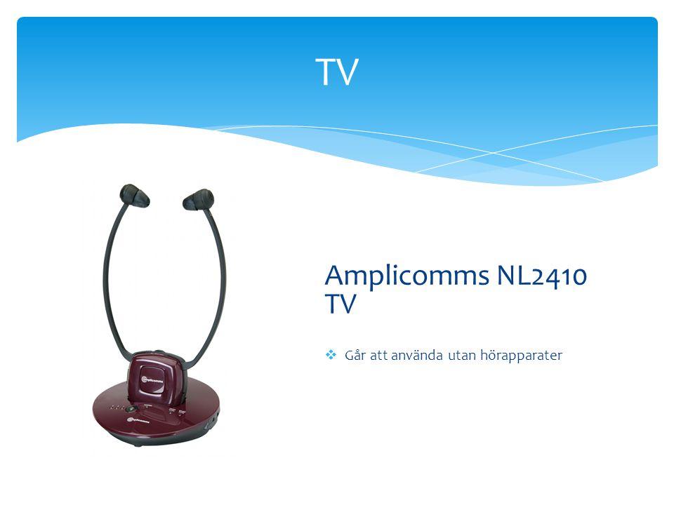 TV Amplicomms NL2410 TV  Går att använda utan hörapparater