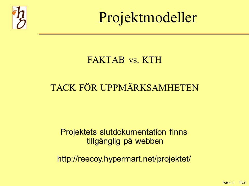 Sidan 11 HGO Projektmodeller FAKTAB vs.