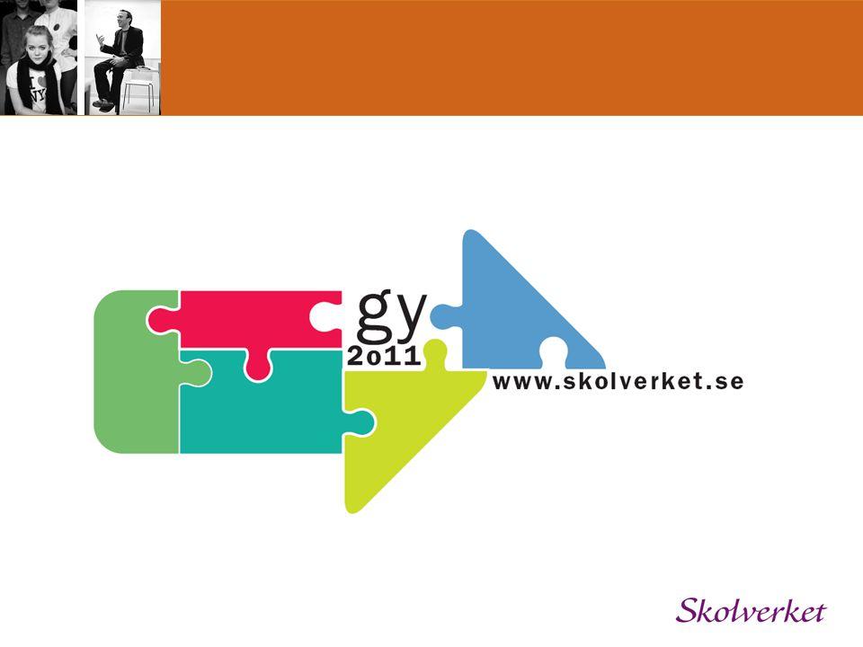 Frågor? Kontakta oss på ee.gy2011@skolverket.se