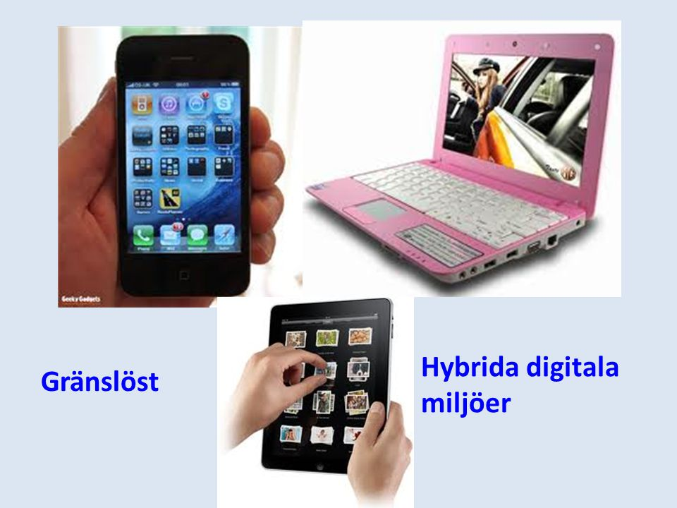 Hybrida digitala miljöer Gränslöst