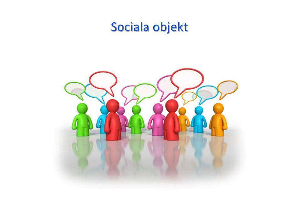 Sociala objekt