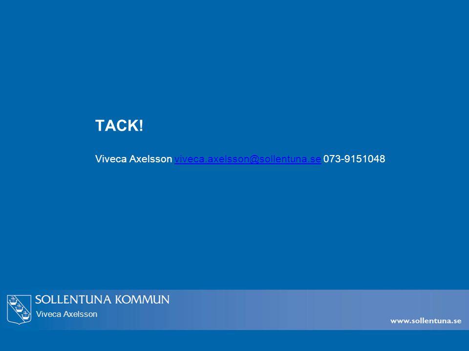 Viveca Axelsson TACK.