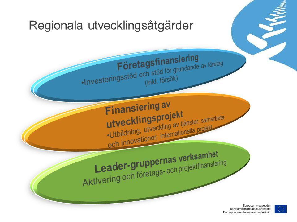 Regionala utvecklingsåtgärder