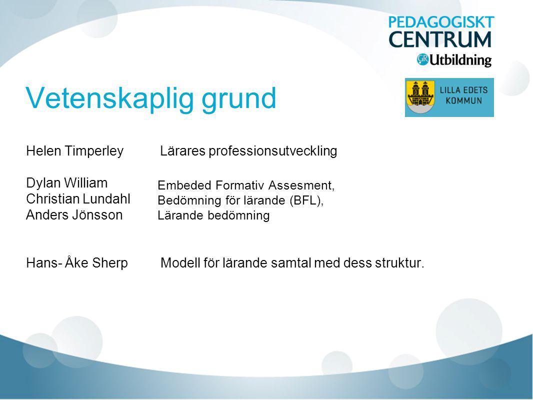 Kollegialt lärande Effektivt kollegialt lärande Helen Timperley 2012