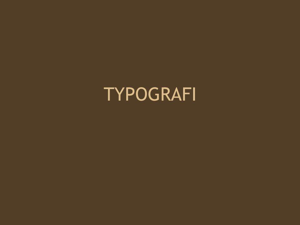 Vi kan tolka en text olika beroende på vilket typsnitt det är skrivet med.