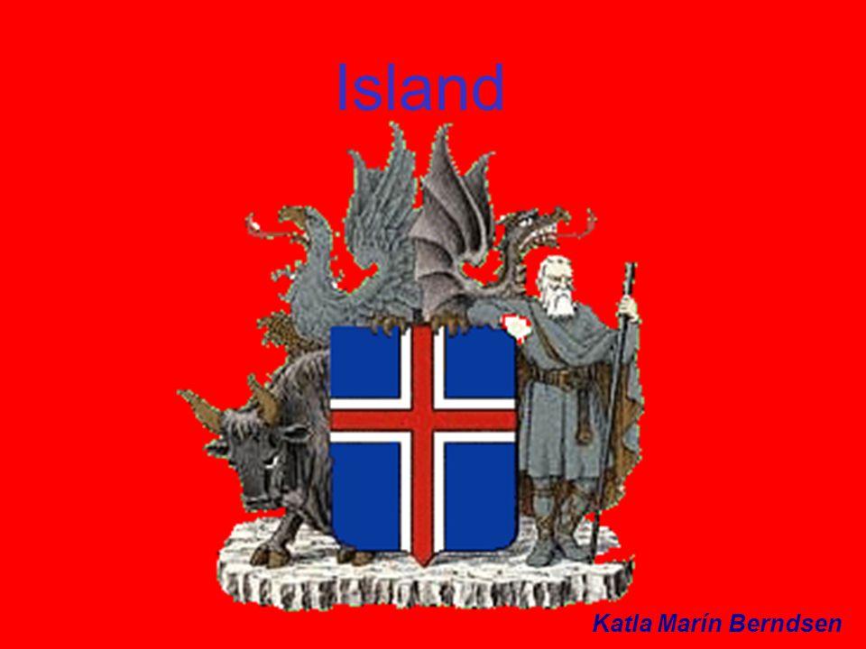 Island Islands yta är 103 020km2.Islands huvudstad heter Reykjavík och där bor ca.