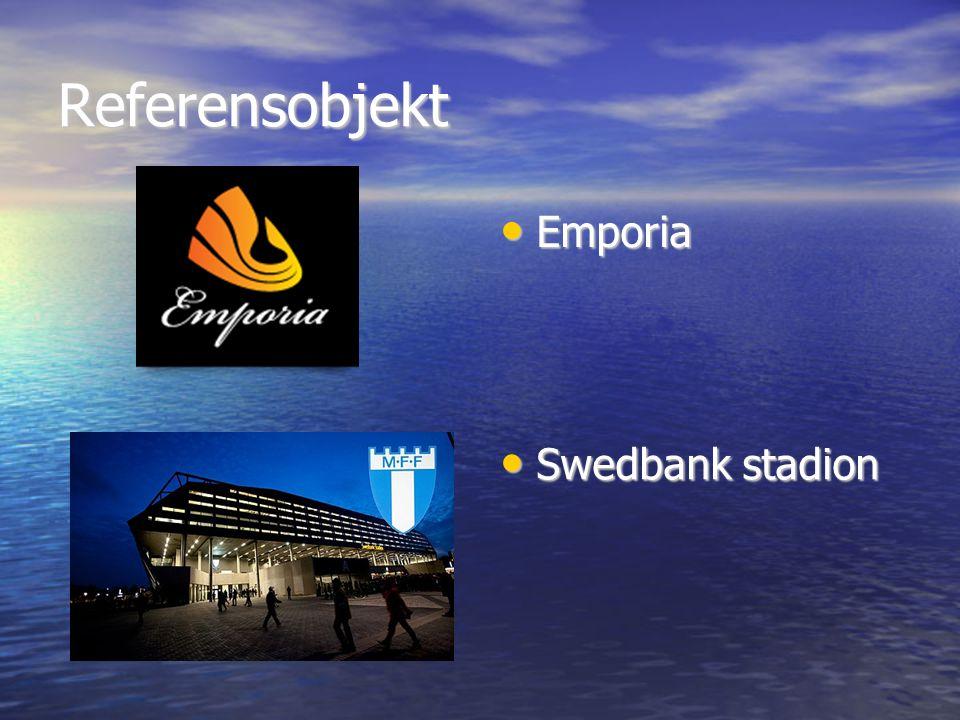 Referensobjekt Emporia Emporia Swedbank stadion Swedbank stadion