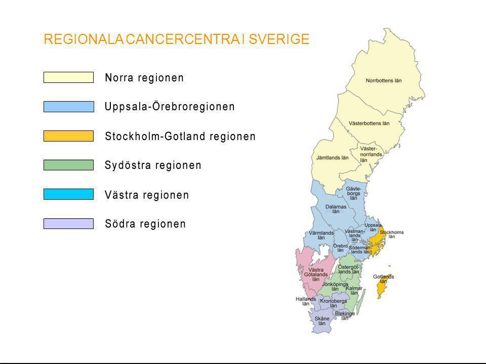 Cancerplan RCC Uppsala Örebroregionen utgångspunkter för arbetet Noggrant förankringsarbete Utsedd ansvarig person vid RCC: Birgitta Clarin Omfattande intervjurunda, ca 70 intervjuer med politiker, tjänstemän, professionella företrädare och patientföreträdare hösten 2012.