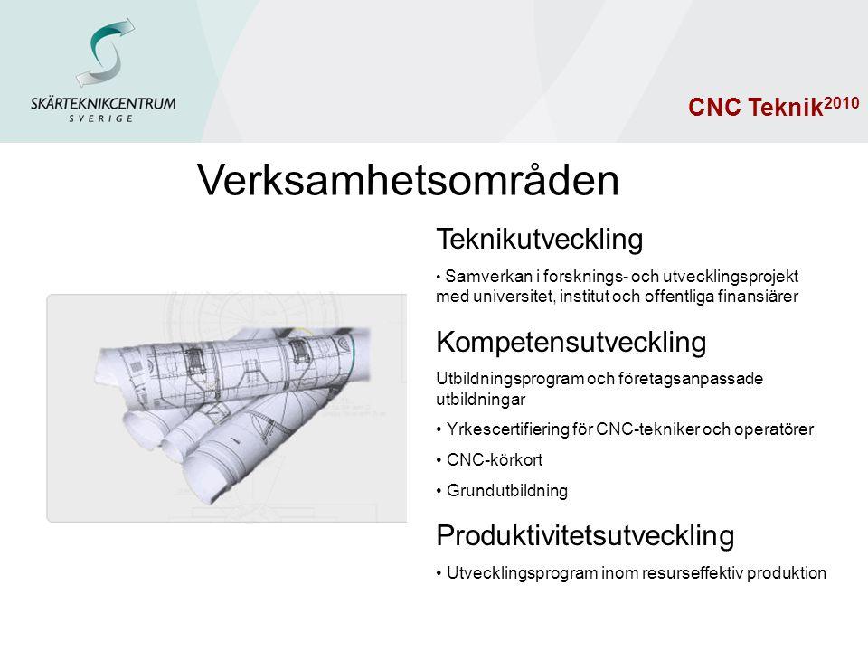 Resultatsammanställning CNC Teknik 2010