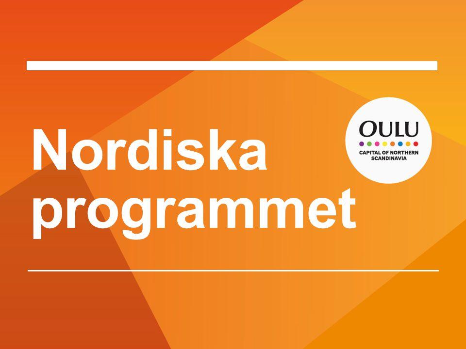 NORDISKA PROGRAMMET www.nordicbusinesslink.eu Business Support = B2B möten Vi har sökt en fungerande modell för detta arbete under åren 2011 - 2013