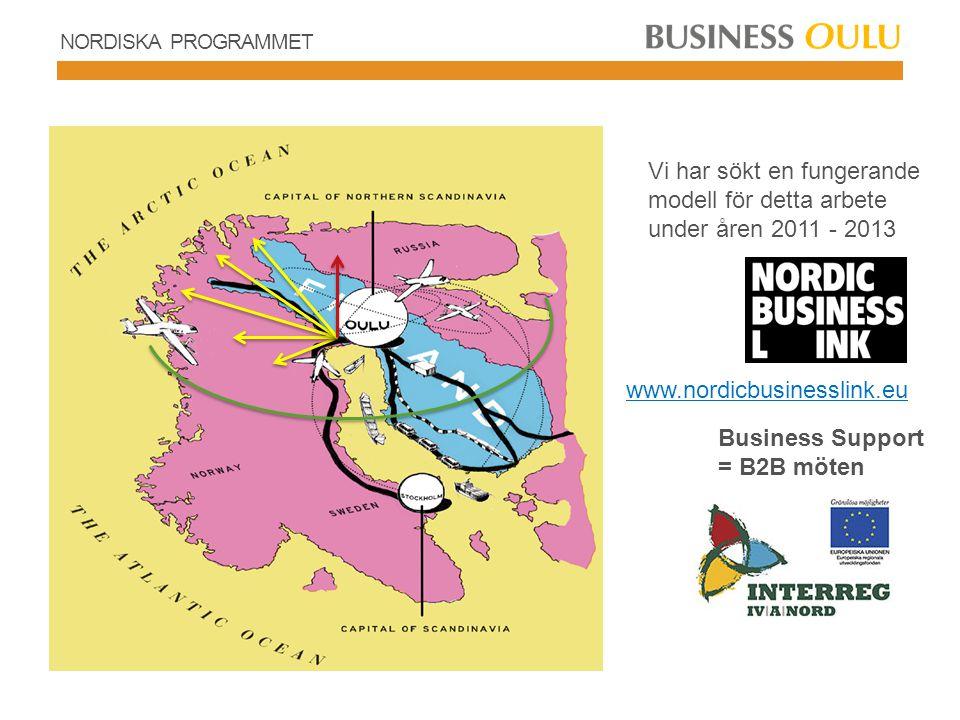 NORDISKA PROGRAMMET – SUOMI TALO Arbetskraftens rörlighet SUOMI-talo marknadsför de finska företagen samt universitet och yrkeshögskolor med fokus på samverkan och samarbete.
