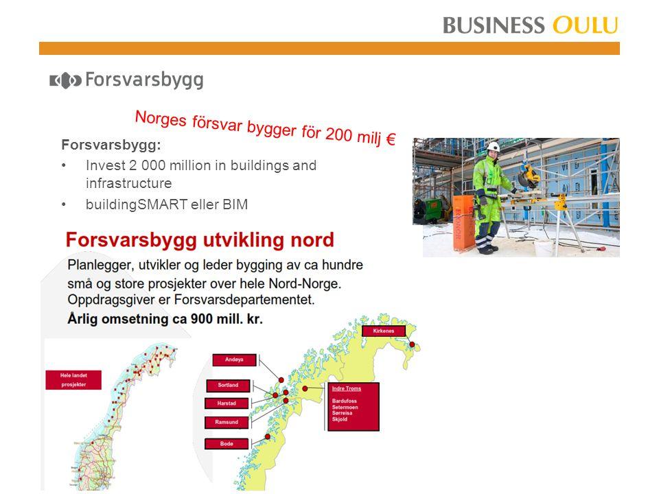 Norges vegvesen fördubblar sina investeringar 7,5  18 miljarder € Statens Vegvesen: Invest 85  177 mrd Nok in infrastructure 2013 – 2014 New investments, operation and maintenance http://www.vegvesen.no/Vegprosjekter