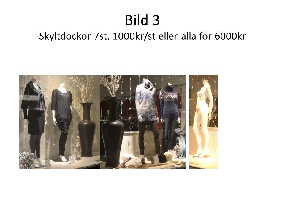 Bild 3 Skyltdockor 7st. 1000kr/st eller alla för 6000kr
