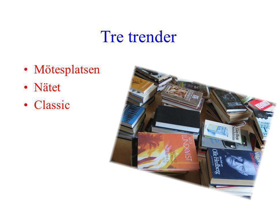 Tre trender Mötesplatsen Nätet Classic