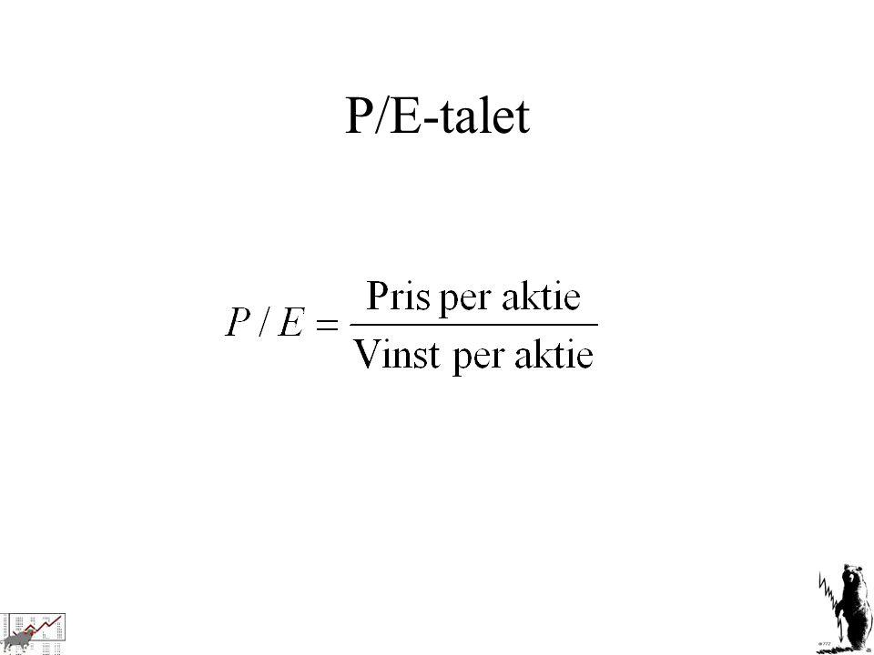 P/E-talet