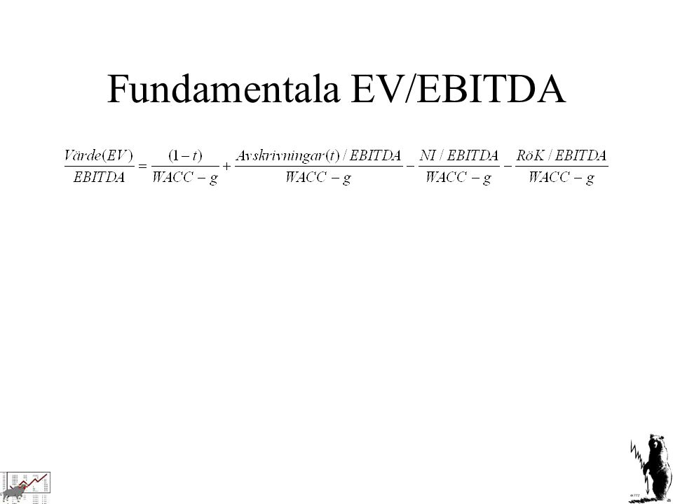 Fundamentala EV/EBITDA
