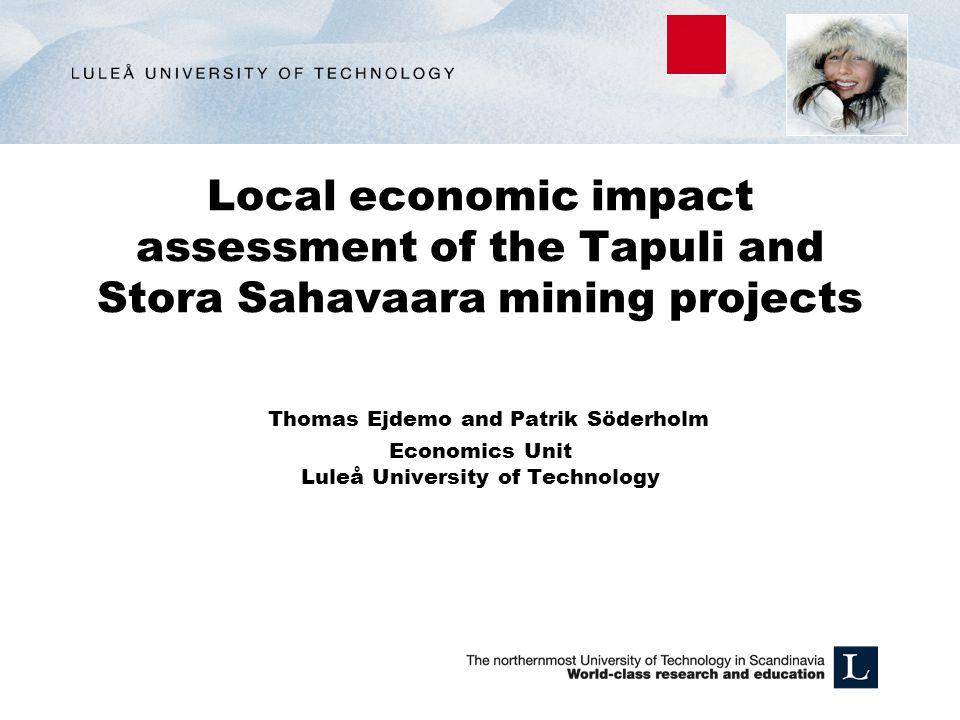 Disposition: Kort bakgrund kring gruvprojektet och Pajala kommun.