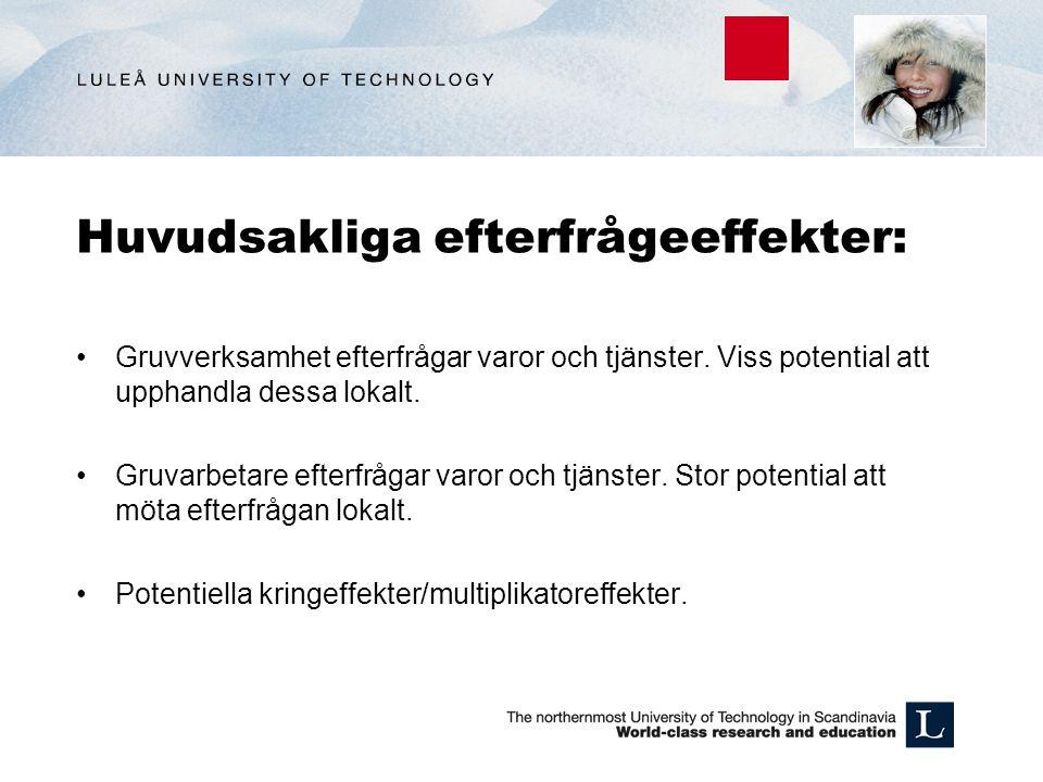 Vår studie; analys av potentiella effekter av en storskalig järnmalmsbrytning i Pajala.