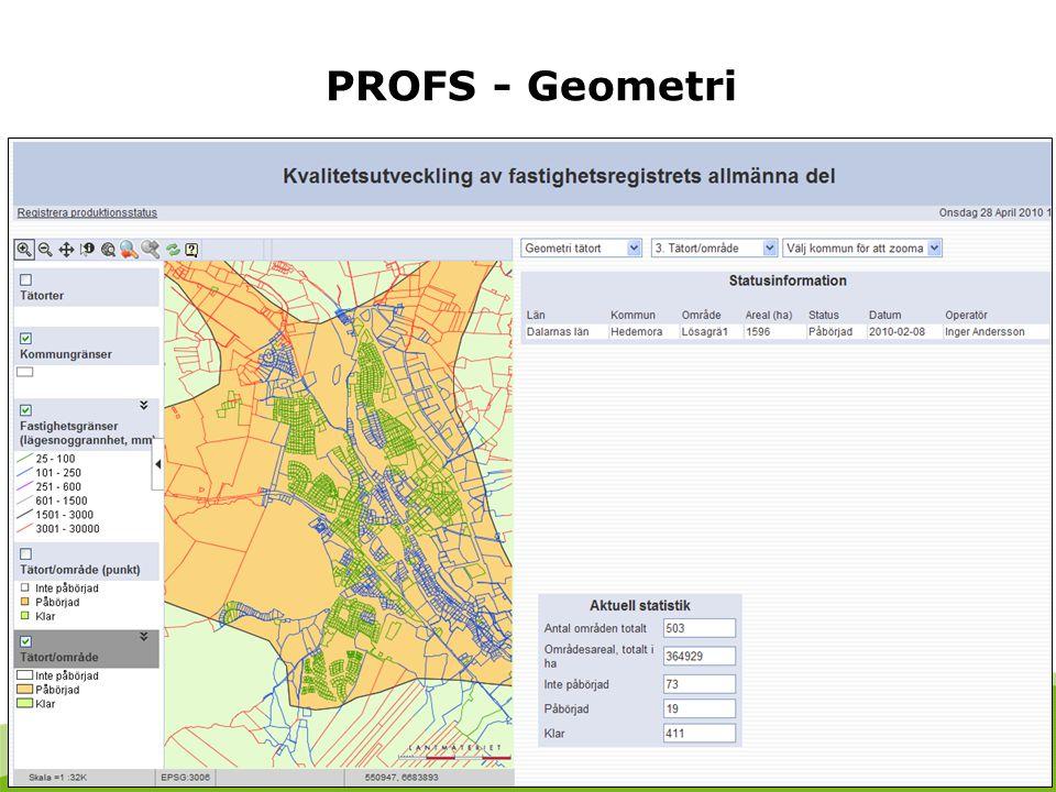 5 PROFS - Geometri