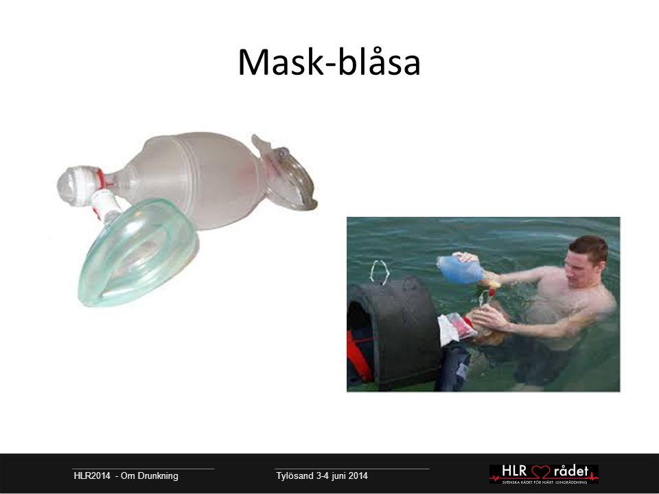Mask-blåsa HLR2014 - Om Drunkning Tylösand 3-4 juni 2014