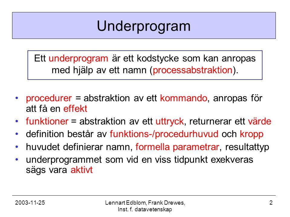 2003-11-25Lennart Edblom, Frank Drewes, Inst. f.