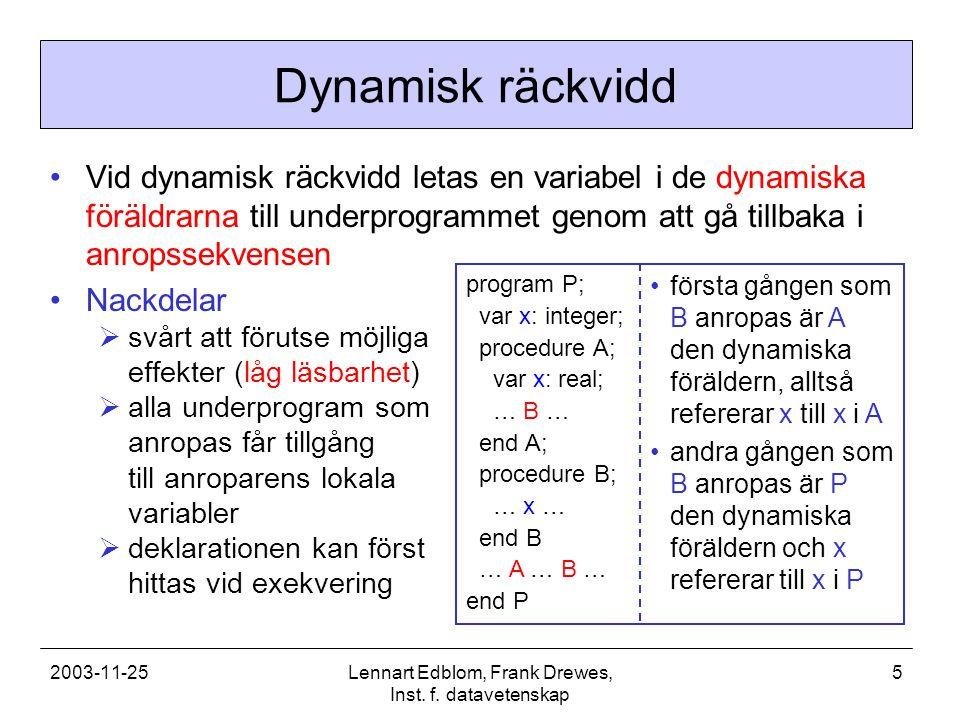 2003-11-25Lennart Edblom, Frank Drewes, Inst.f.