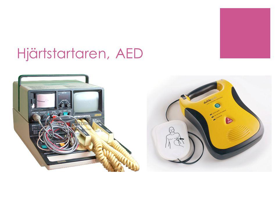 Hjärtstartaren, AED