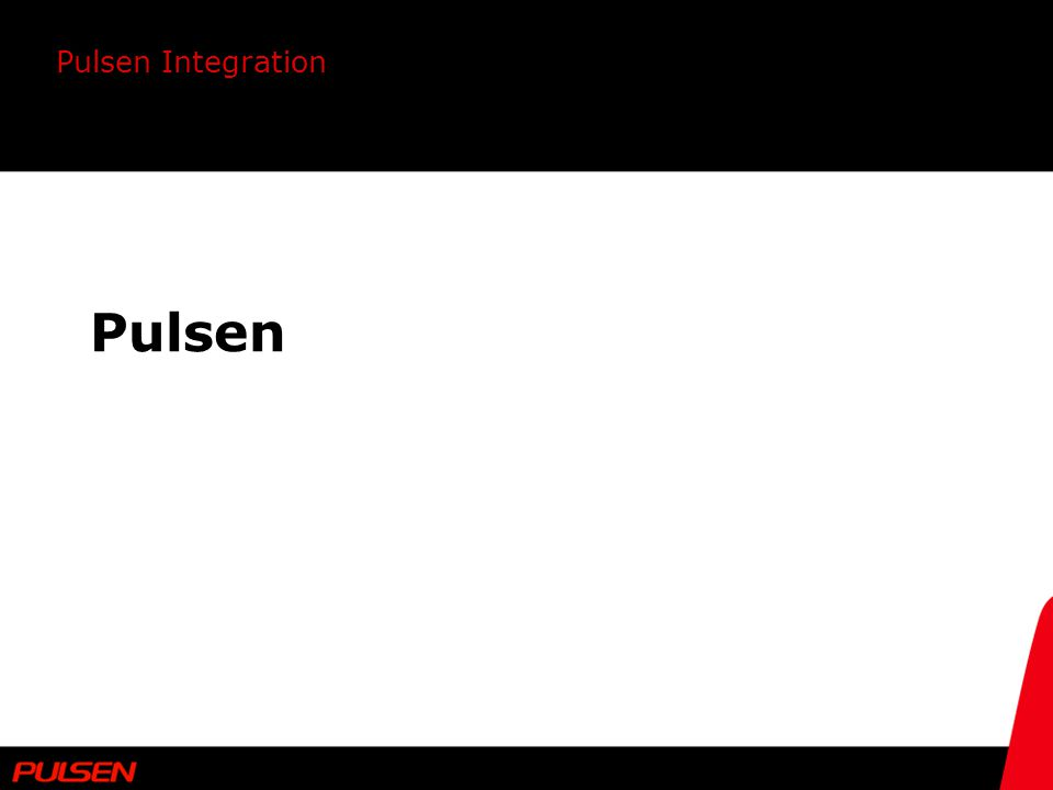 Pulsen Integration Pulsen