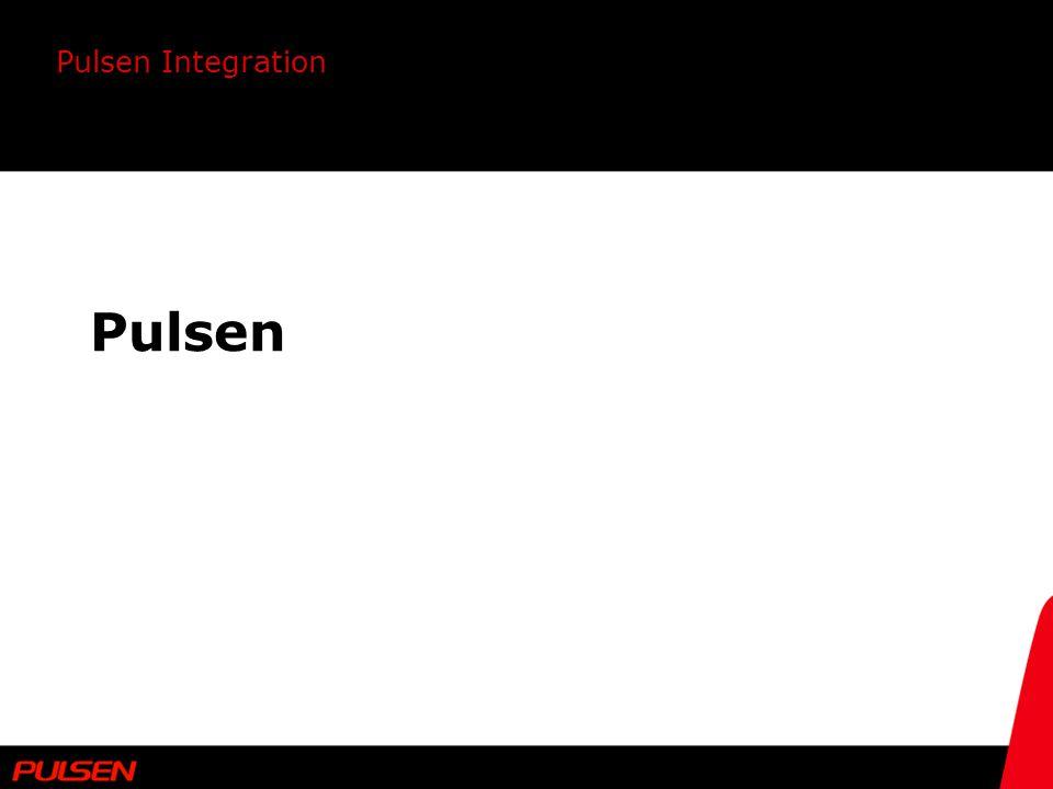 Pulsen Integration Testprotokoll SAT Utgår ifrån ett antal händelsefall Verifierar införd funktionalitet Stöd under leveranskontrollperioden Skapar kvalitetssäkring vid och inför framtida förändringar Ett levande dokument Versionshantering