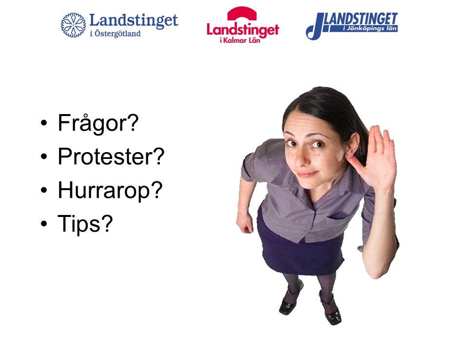 Frågor Protester Hurrarop Tips