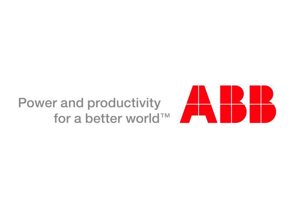 © ABB Group January 11, 2015 | Slide 28