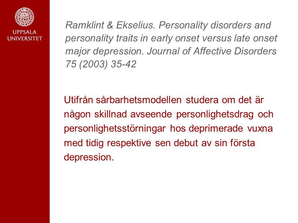 Ramklint & Ekselius.