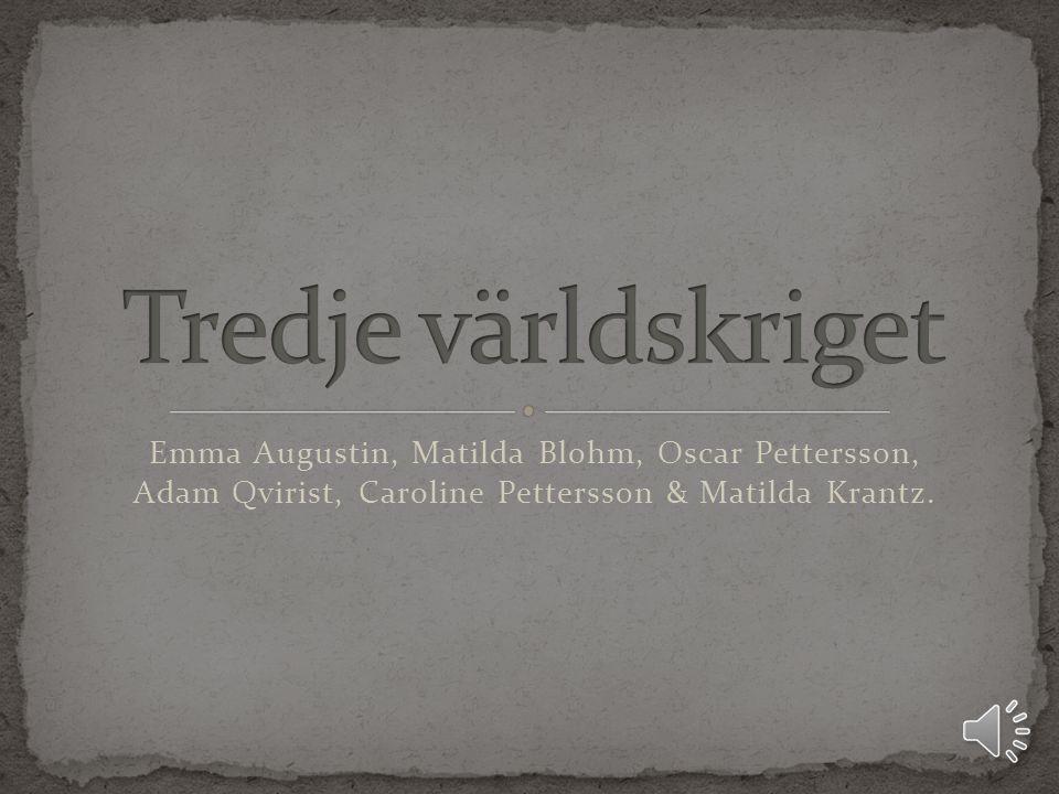 Emma Augustin, Matilda Blohm, Oscar Pettersson, Adam Qvirist, Caroline Pettersson & Matilda Krantz.